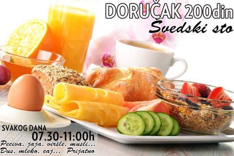 Imper doručak 200din