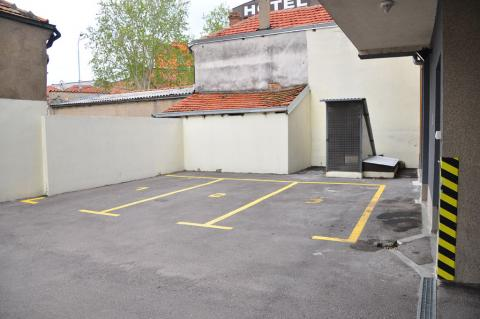 Izgled parkinga
